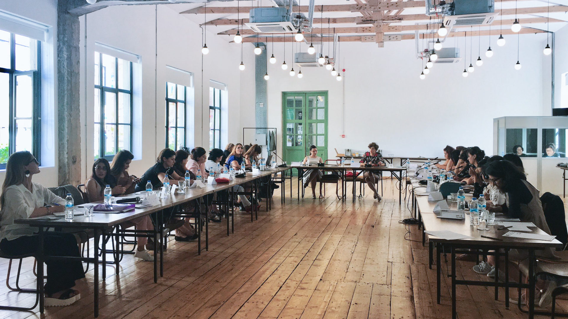 """""""National Leadership Academy"""" in Georgia for women human rights defenders."""