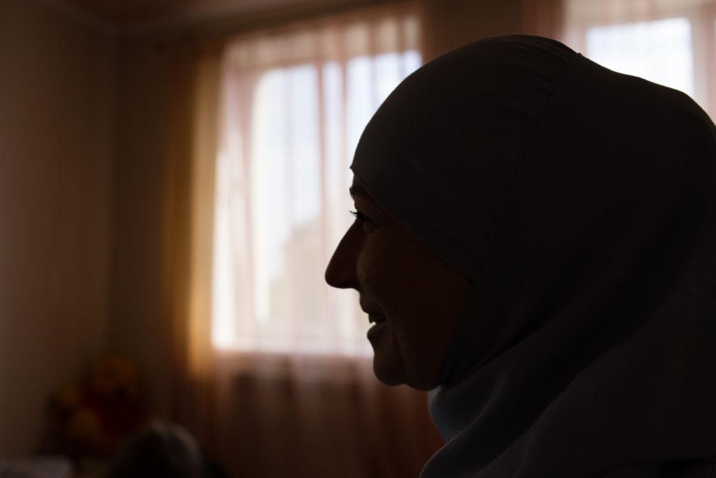 Meriem Kuku, wife of imprisoned human rights defender Emir-Usein Kuku