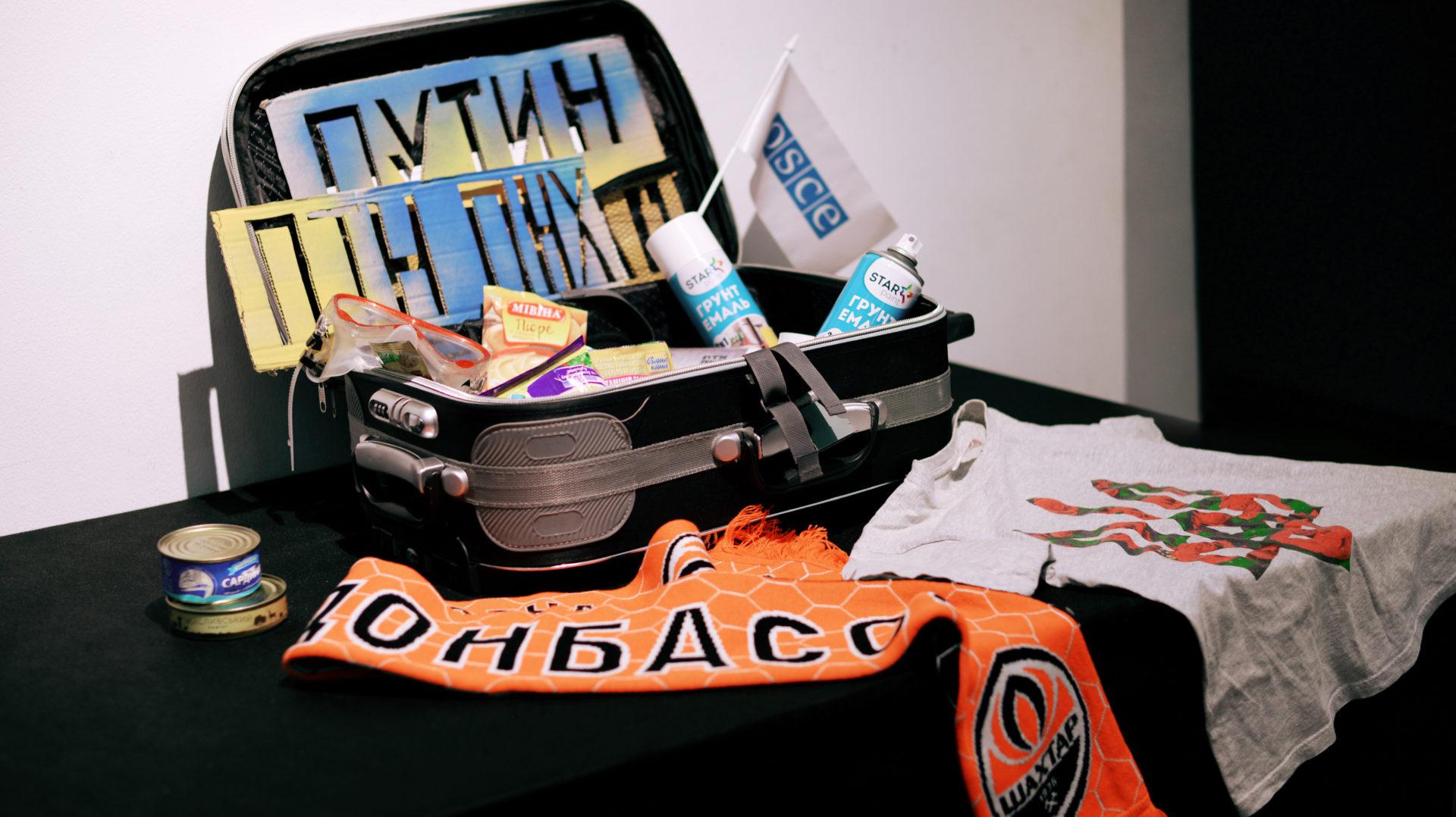 Ukrainian Suitcases Exhibition. Photo: Crimean Human Rights House
