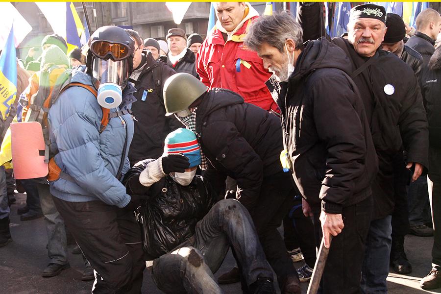 Majdan 2014. Picture Marianna Khardy