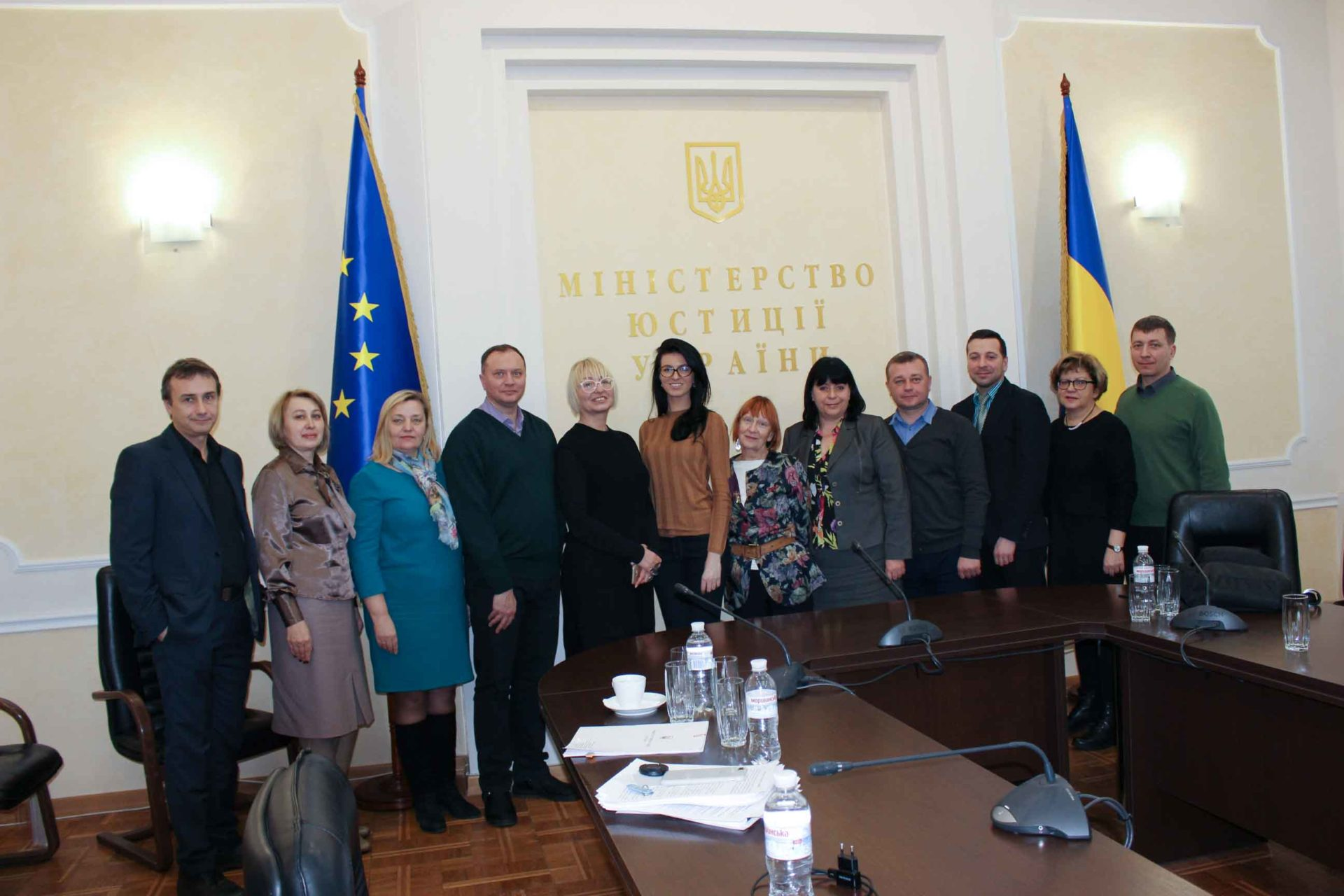 Juvenile justice reforms based on international standards in Ukraine