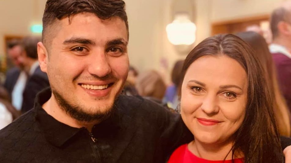 We are so happy to see #MehmanHuseynov reunited with his international colleagues after being permitted to leave #Azerbaijan. #FreeMehman