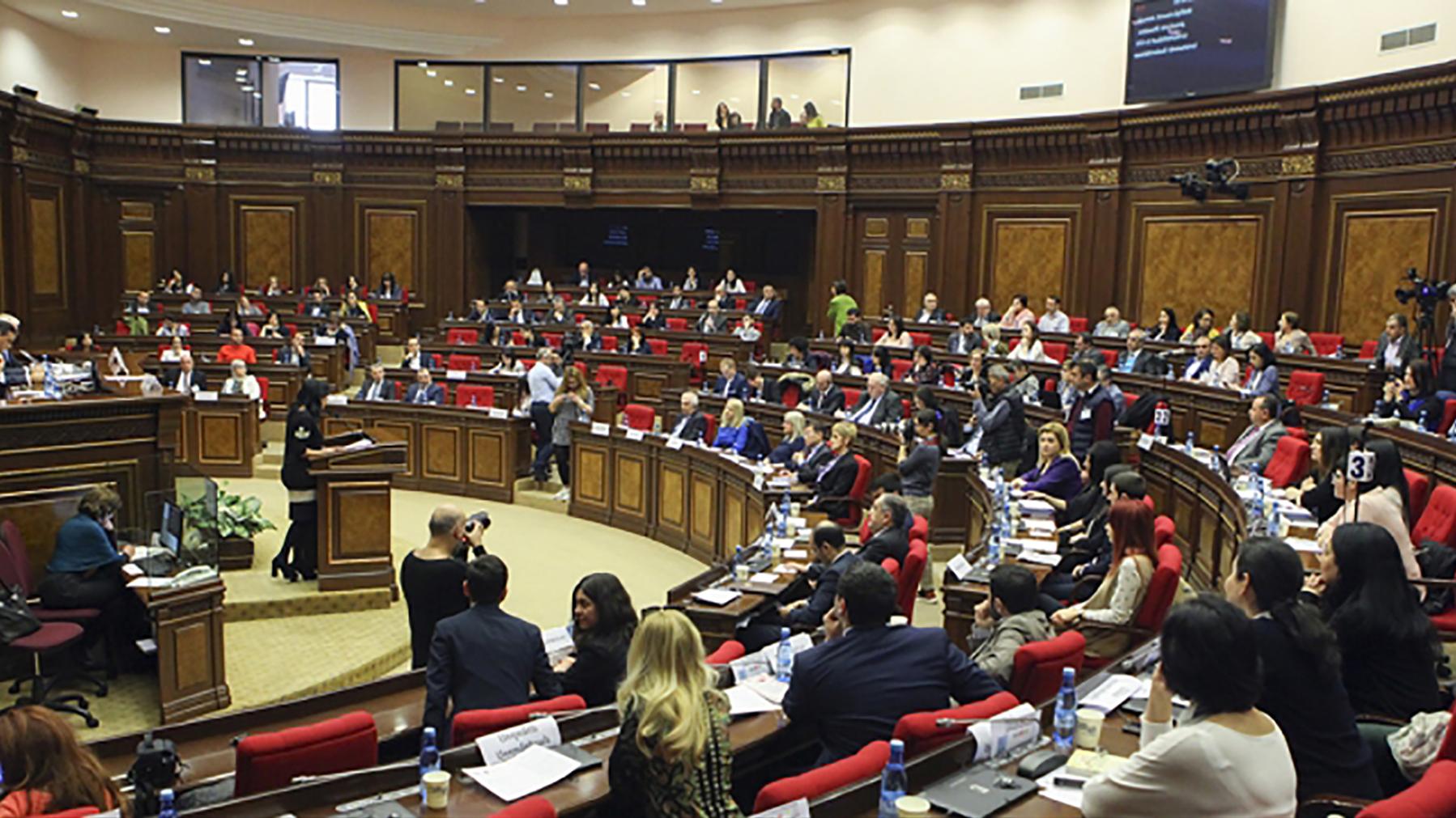 Discrimination as Armenia discusses universal periodic review in parliament. Photo: parliament.am